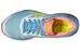 asics Gel-Cumulus 18 Shoe Women White/Safety Yellow/Blue Atoll